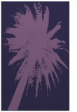 rug #418025 |  purple abstract rug