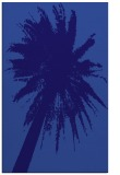 rug #418033 |  blue-violet graphic rug