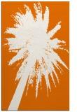 rug #418121    orange abstract rug