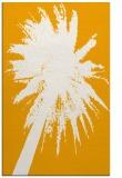 rug #418265 |  light-orange abstract rug