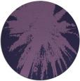 rug #418377 | round purple natural rug