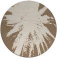 rug #418433 | round beige natural rug