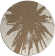 rug #418434 | round abstract rug