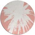 rug #418501   round white natural rug