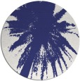 rug #418561 | round blue abstract rug