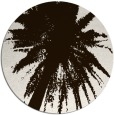 rug #418577 | round brown abstract rug
