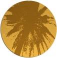 rug #418585 | round light-orange abstract rug
