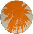 rug #418597 | round beige natural rug