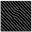 rug #418993 | square black animal rug