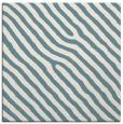 rug #419009 | square white stripes rug