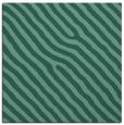 rug #419041 | square blue-green rug