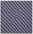 rug #419073 | square blue-violet animal rug