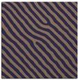 rug #419093 | square blue-violet animal rug