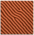 rug #419185 | square red-orange stripes rug