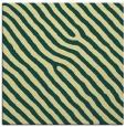 rug #419189 | square blue-green stripes rug
