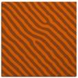 rug #419249 | square red-orange animal rug