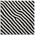 rug #419257 | square white stripes rug