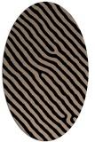 rug #419350 | oval stripes rug