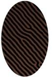 rug #419353   oval stripes rug