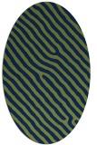 rug #419373 | oval stripes rug