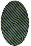 rug #419374 | oval stripes rug