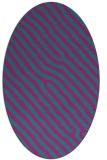 rug #419401   oval pink rug