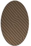 rug #419447 | oval stripes rug