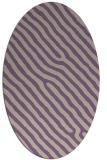 rug #419517 | oval purple animal rug