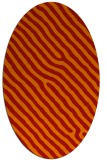 rug #419581 | oval red animal rug