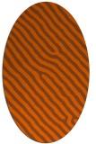 rug #419602   oval animal rug