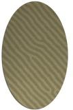 rug #419661 | oval light-green animal rug