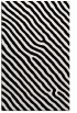 rug #419693 |  black stripes rug