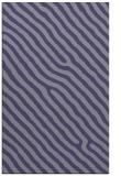 rug #419777 |  blue-violet stripes rug