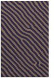 rug #419797 |  blue-violet stripes rug
