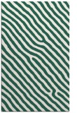 rug #419821 |  green stripes rug