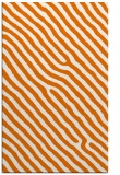 rug #419881 |  orange stripes rug