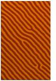 rug #419945 |  red-orange stripes rug