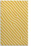 rug #419977 |  yellow stripes rug