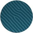 rug #420089 | round blue-green rug