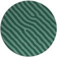 rug #420097   round blue-green animal rug