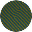 rug #420101 | round blue-green animal rug