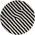 rug #420117   round blue-green animal rug