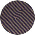 rug #420149 | round blue-violet rug