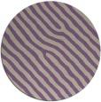 rug #420221   round purple animal rug