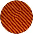 rug #420229   round orange animal rug