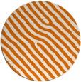 rug #420233 | round orange animal rug