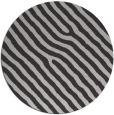 rug #420241 | round orange stripes rug