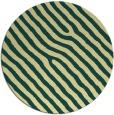 rug #420245   round yellow animal rug