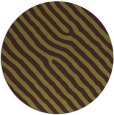 rug #420269 | round purple stripes rug