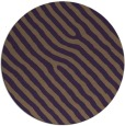 rug #420273 | round purple animal rug